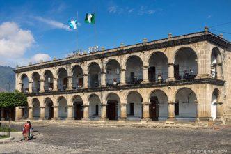 PHOTO STOCK: Palacio del Ayuntamiento de Antigua Guatemala