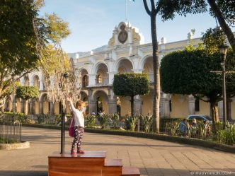 PHOTO STOCK: Winter Afternoon Light in Antigua Guatemala