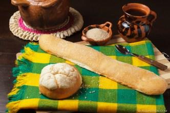 PHOTO STOCK: Guatemalan Bread — Lengua and Mollete
