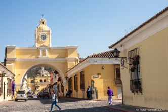 PHOTO STOCK: Life goes on in the colorful city of Antigua Guatemala during the pandemic.