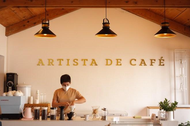 Antigua Daily Photo Foodie Friday's — Artista de Café by RUDY GIRON