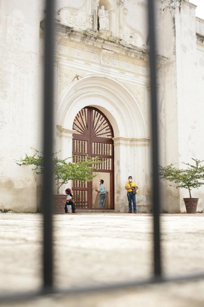 Quotidian Vistas from Antigua Guatemala — Cathedral Ruins Entrance