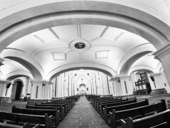 PHOTO STOCK: Fisheye Vista of Iglesia de La Merced by RUDY GIRON