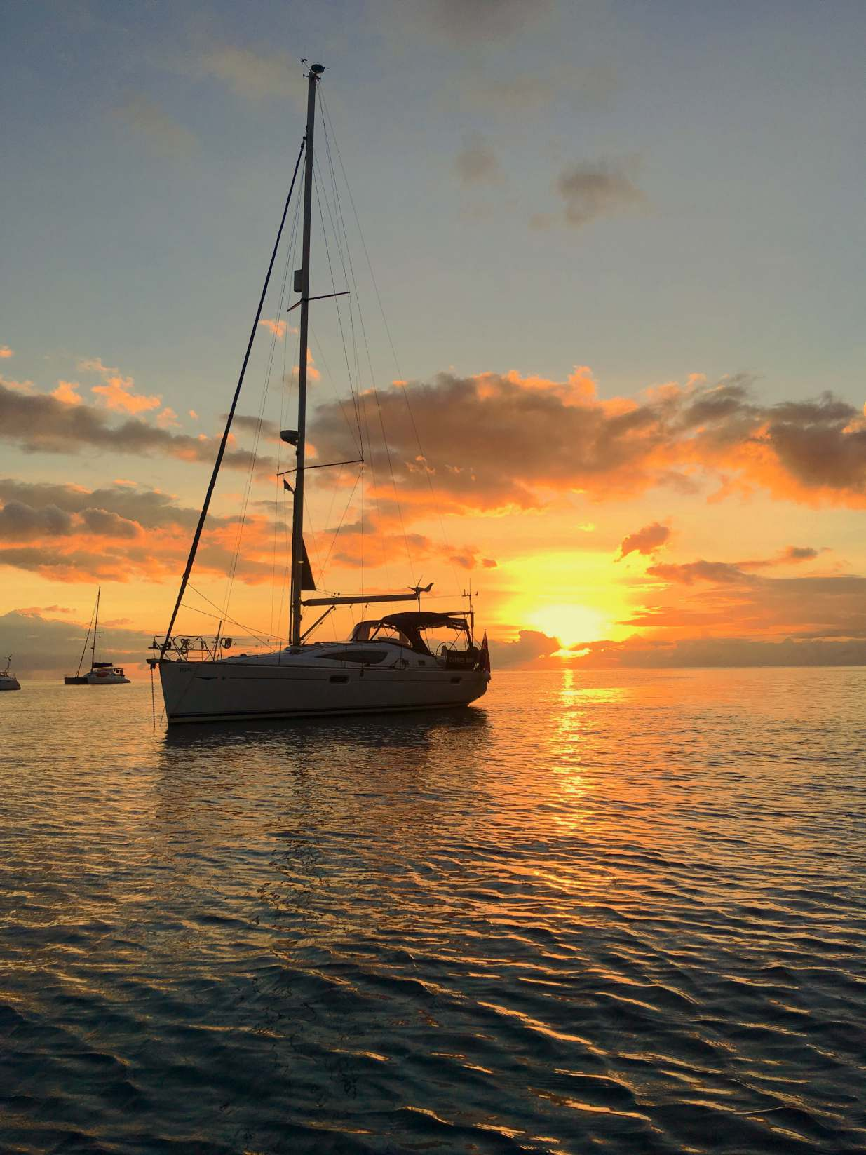 Private Yacht Charter, Sunset, Caribbean