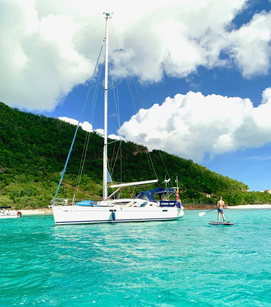 Paddle Boarding Snorkelling Antigua Jolly Harbour Carried Away