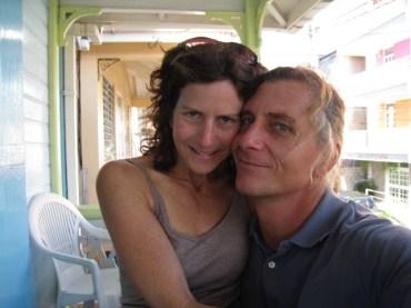 Liz and Richard