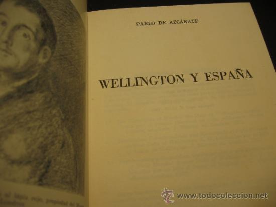 Wellington y España