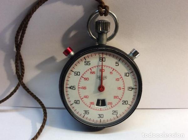 Cronómetro HEUER. Stopwatch 1970