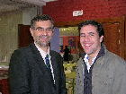 Antonio Ocaña y D. Teo Santolaya