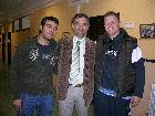 José Jaime Martín Marchesi y Juan López de Haro con D. Teo