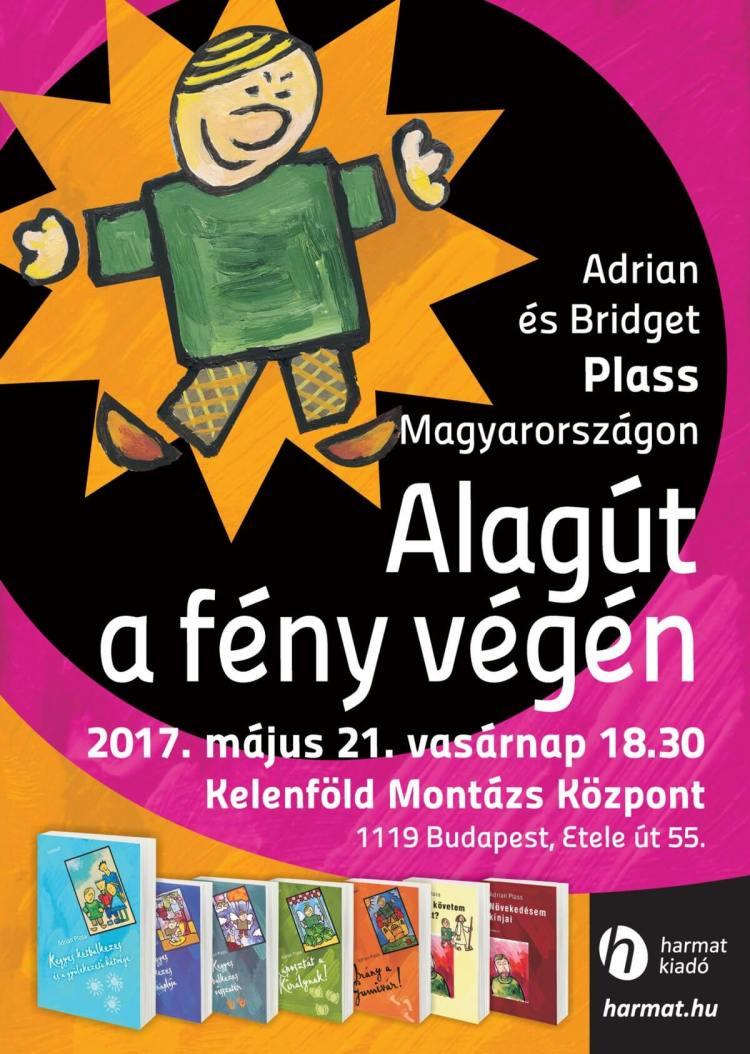 Adrian és Bridget Plass Magyarországon