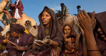 Γιορτή στη φυλή των Τουαρέγκ