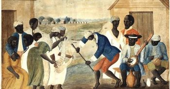 07-slaves-dance-to-banjo-drums-anon.-folk-painting