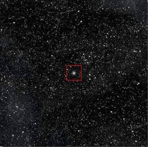 10^15 = 1 τρισεκ. χλμ : Ο ήλιος φαίνεται πια σαν ένα μικρό αστέρι.