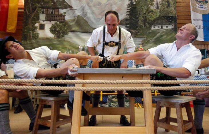 Γερμανικό Πρωτάθλημα αγώνων δάχτυλου στο Warngau, Γερμανία