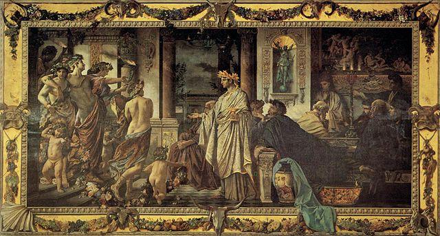 Το συμπόσιο του Πλάτωνα - Άνσελμ Φόιερμπαχ 1873