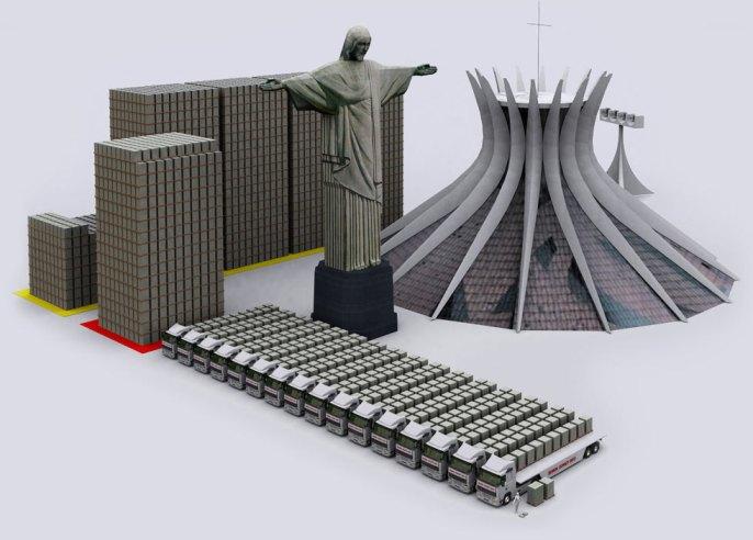 Βραζιλία 1 τρις δολ.