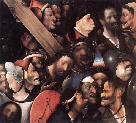 Ιερώνυμος Μπος - το μίσος και ο χλευασμός στα πρόσωπα είναι εμφανής