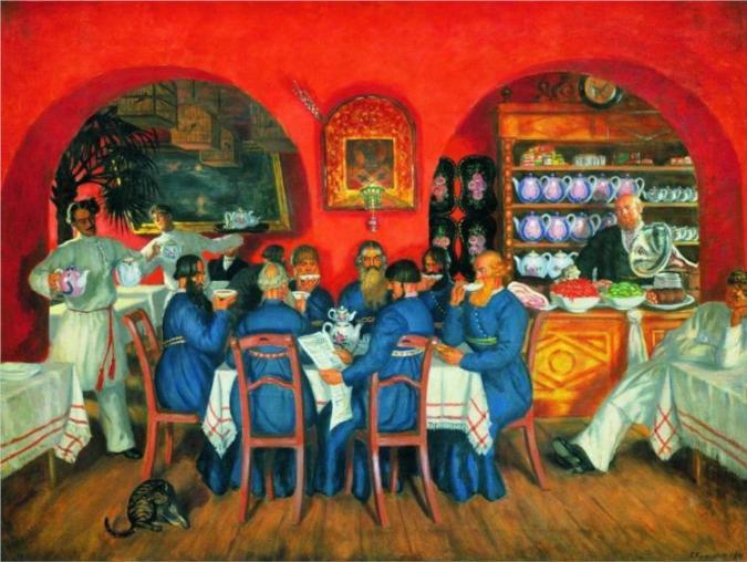 Μοσχοβίτικη ταβέρνα - Boris Kustodiev 1916