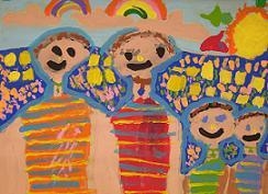 παιδική ζωγραφιά