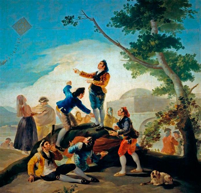 Ο χαρταετός - Francisco Jose de Goya y Lucientes - 1777-1778