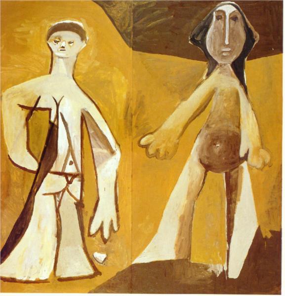 Άνδρας και Γυναίκα Picasso 1958