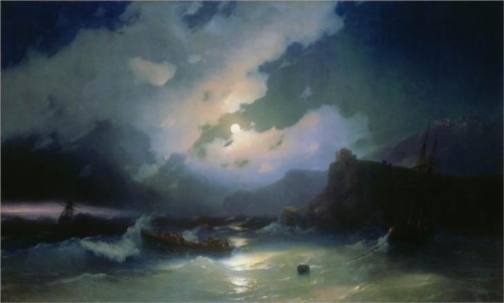 Πάτμος - Ivan Aivazovsky 1854