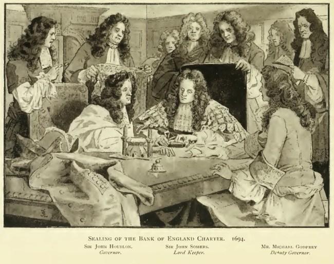Bank_of_England_Charter_sealing_1694