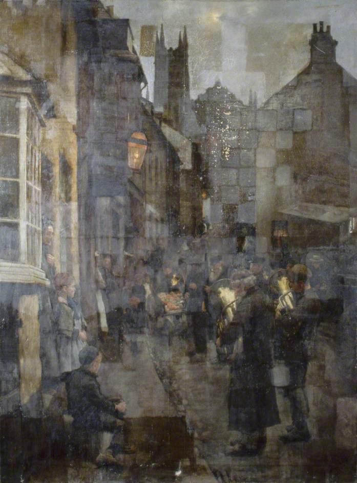 παραμονή Χριστουγέννων - Stanhope Alexander Forbes - 1897