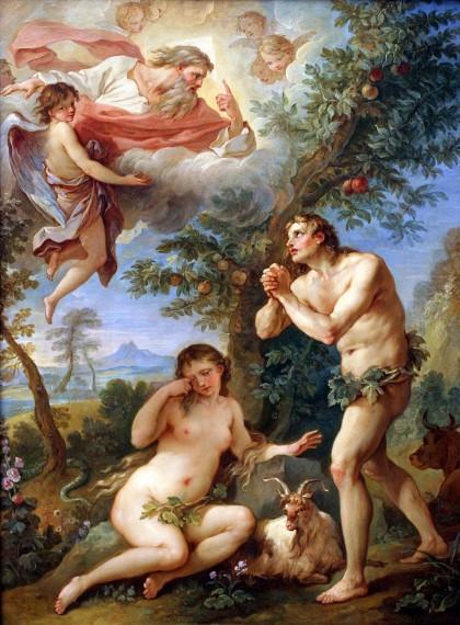 Charles Joseph Natoire Η έξοδος από τον Παράδεισο, 1740