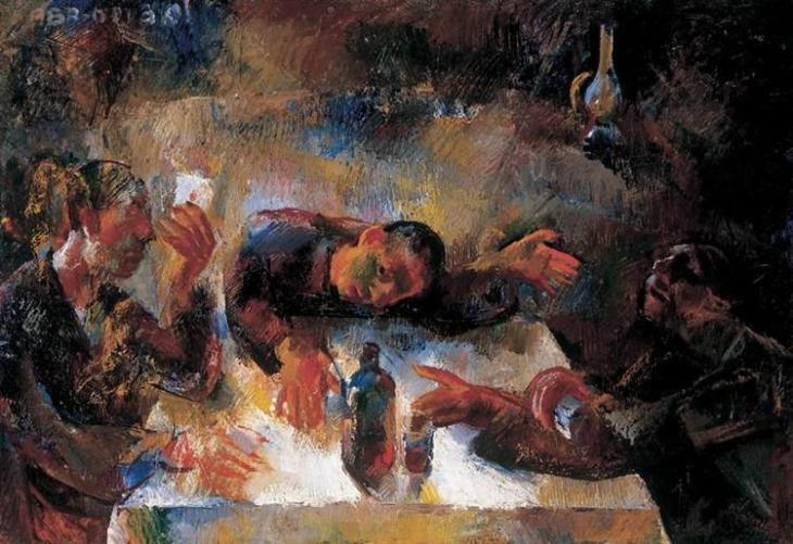 κρασοπότες - Vilmos Aba-Novak 1925