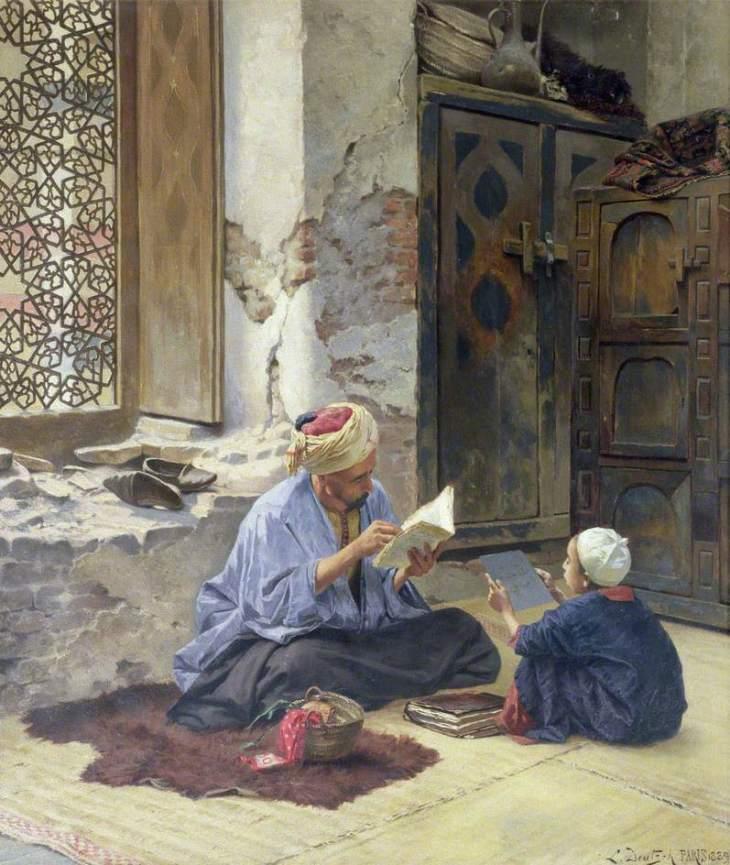 ένας άραβας δάσκαλος -Ludwig Deutsch - 1889