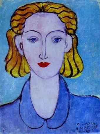 Νεαρή γυναίκα με μπλε μπλούζα Henri Matisse 1939