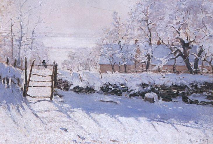 Κλοντ Μονέ, η καρακάξα, 1868-1869