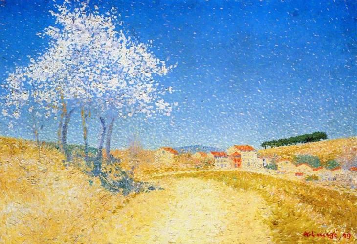 Αμυγδαλιές σε ανθοφορία - Achille Laugé - 1909