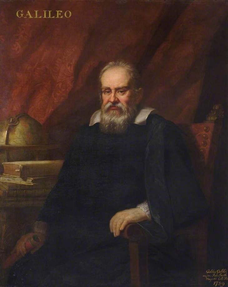 Πορτρέτο του Galileo Galilei (1564-1642), Φυσικός, Μαθηματικός, Αστρονόμος και Φιλόσοφος -Allan Ramsay - 1757