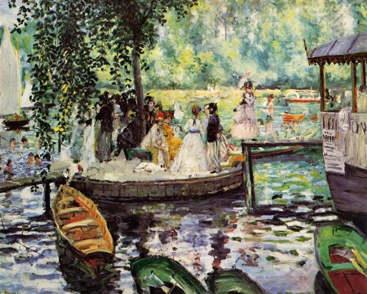 La Grenouillere 1869