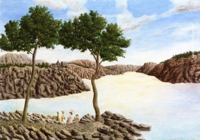 Ελληνικό τοπίο - André Bauchant - 1941