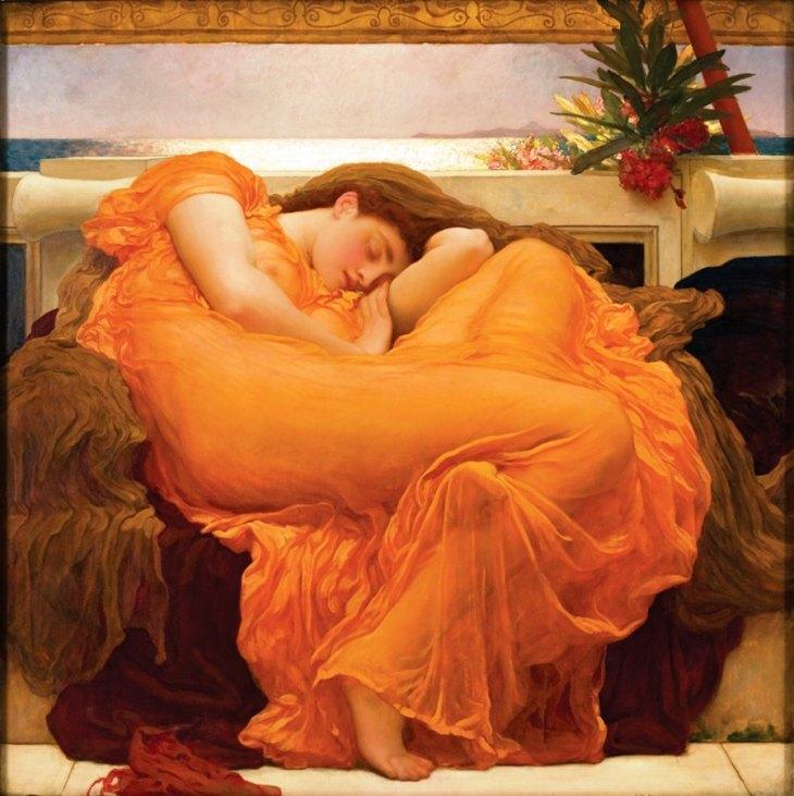 Φλεγόμενος Ιούνης -Sir Frederic Lord Leighton - 1885