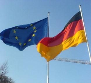 germany-EU-flags