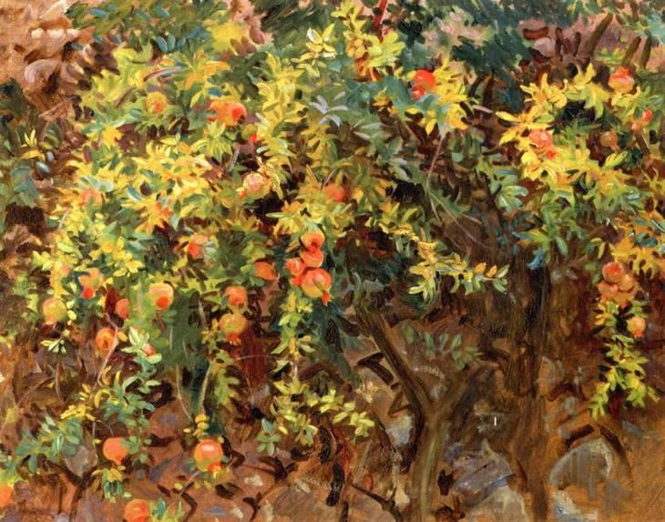 Ροδιά στη Μαγιόρκα John Singer Sargent - 1908