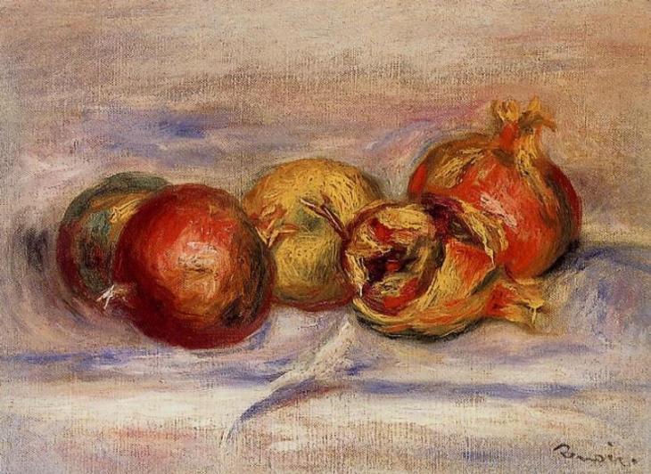 Τρία Ρόδια και δύο μήλα - Pierre Auguste Renoir