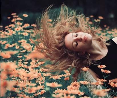 flowers-hair