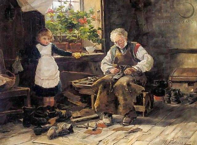 The Village Shoemaker, by David Fulton