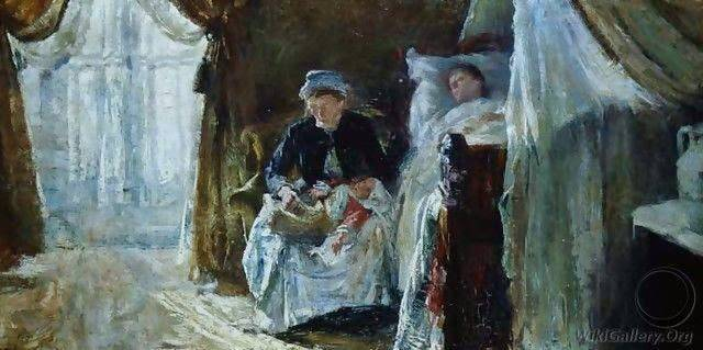 The Invalid and the Birth,by William van Strydonck