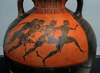 """Το αγωνιστικό ιδεώδες ήταν η αιτία του """"ελληνικού θαύματος"""", όπως το ονόμασαν οι Γερμανοί, της ακμής του ελληνικού πολιτισμού."""