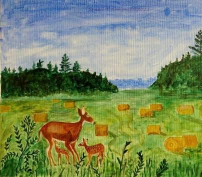 mother-deer-and-kids-sonali-gangane
