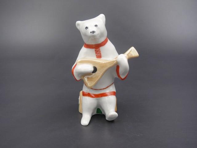 Статуэтка медведь Дулево