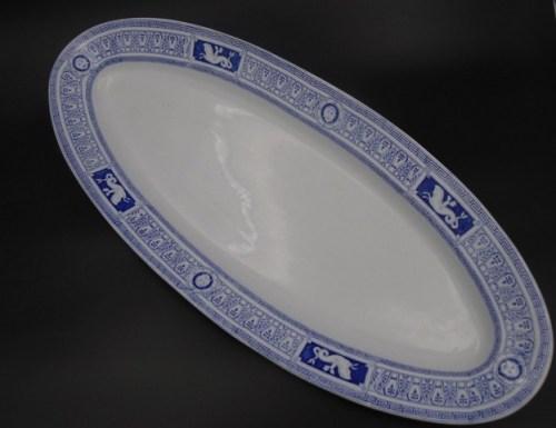 Столовое блюдо Кузнецов Тверь до 1917 года