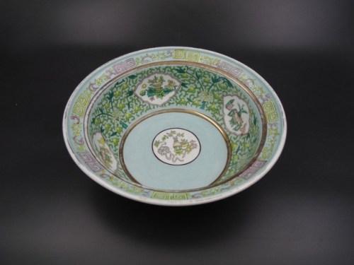 Миска-салатник Гарднер до 1917 г. для экспорта в Азию